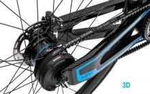 未来你骑得电动自行车将是3D打印碳纤维框架